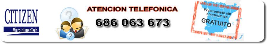 Servicio técnico impresoras de etiquetas Citizen Murcia