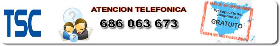 Servicio técnico impresoras de etiquetas TSC Murcia