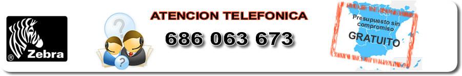 Servicio técnico impresoras de etiquetas Zebra Murcia